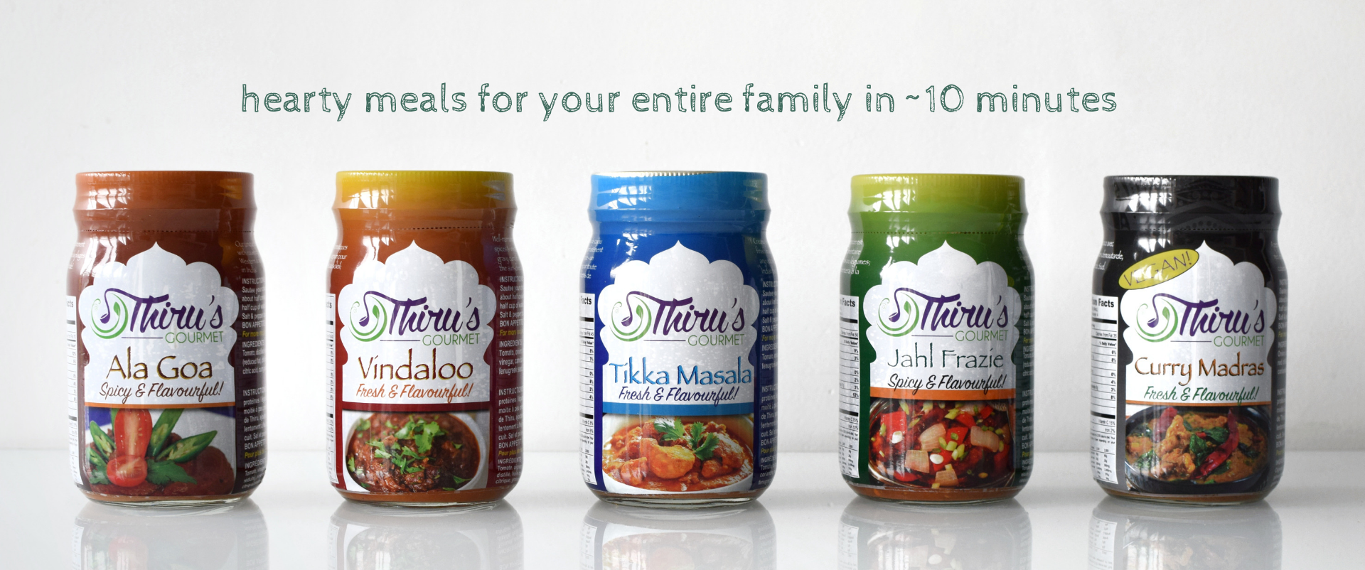 Hearty meals for your entire family in 10 minutes.