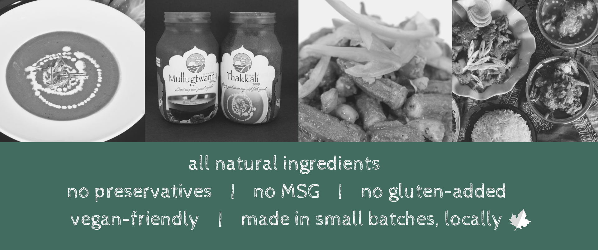 Cooking sauce - all natural ingredients, no preservatives.